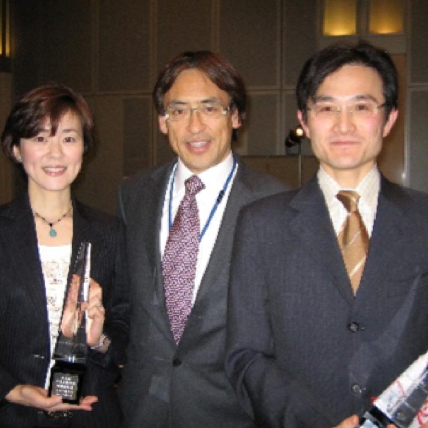 2006年 日本角膜学会学術奨励賞 加治優一